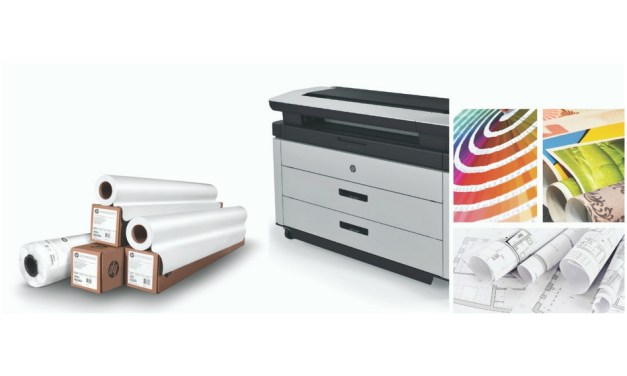 HP launches three new PageWide media products