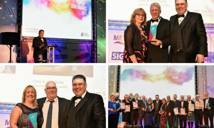 Signs Express celebrates its best ever year in style