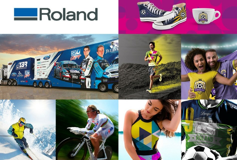 Roland DG shows personalisation solutions at ISPO Munich