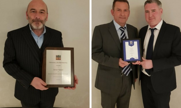 Simon Tabelin awarded top BAPC accolade