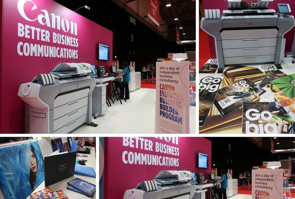 Canon to inspire visitors at PrintWeekLive!