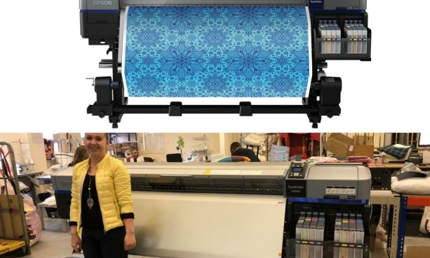 WRAPS invests in the UK's first Epson SC-F9300