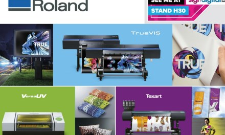 Roland DG to showcase productivity in action