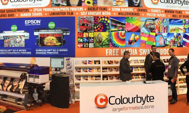 Colourbyte aims to inspire at  Sign & Digital UK 2018