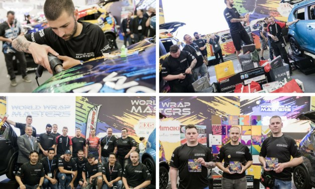 Ivan Tenchev is the new FESPA World Wrap Master