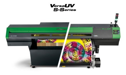 Roland DG to debut the VersaUV S-Series at FESPA 2018