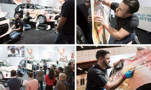World Wrap Masters returns to FESPA 2018