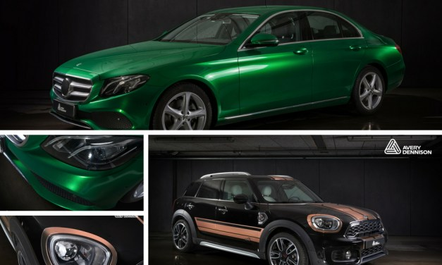 Avery Dennison unveils seven new car-wrapping colours
