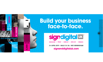 Sign & Digital UK launches 2019 'Face-to-face' show website