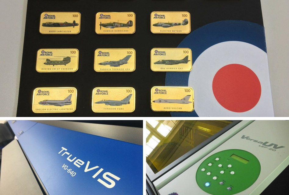 QuickPrint goes for gold with a Roland VersaUV LEF-20