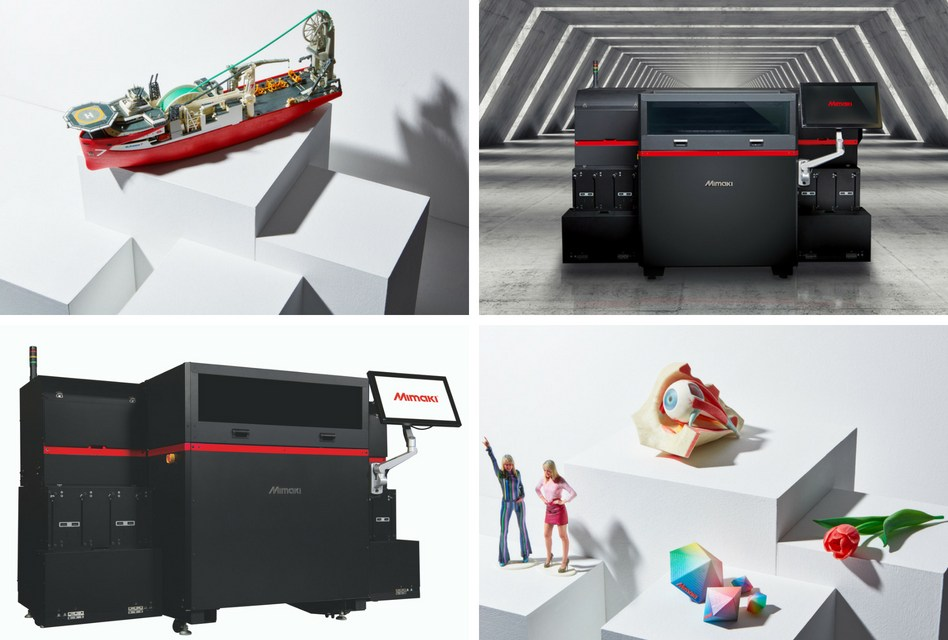 Hybrid to debut Mimaki's 3DUJ-553 3D printer at TCT Show