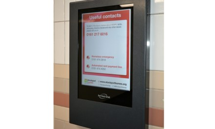 OpenView installs new digital noticeboards at Stockport tower blocks