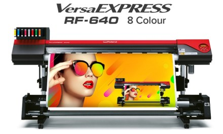 Roland DG introduces the VersaEXPRESS RF-640 8