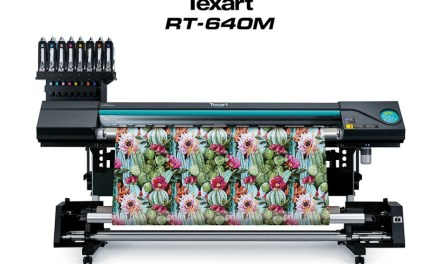 Roland DG introduces the Texart RT-640M dye-sub printer
