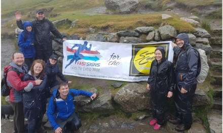 Fundraising success for Fastsigns