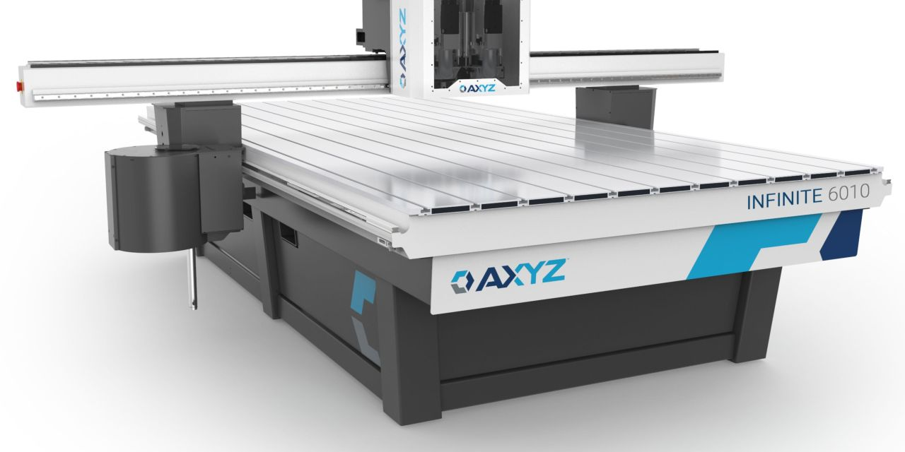 Zeta Specialist Lighting to install first AXYZ Infinite CNC router