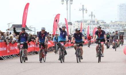 Team Atlantic nails BHF London to Brighton bike ride