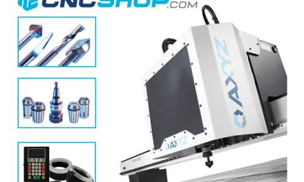 AXYZ introduces enhanced CNC online facility