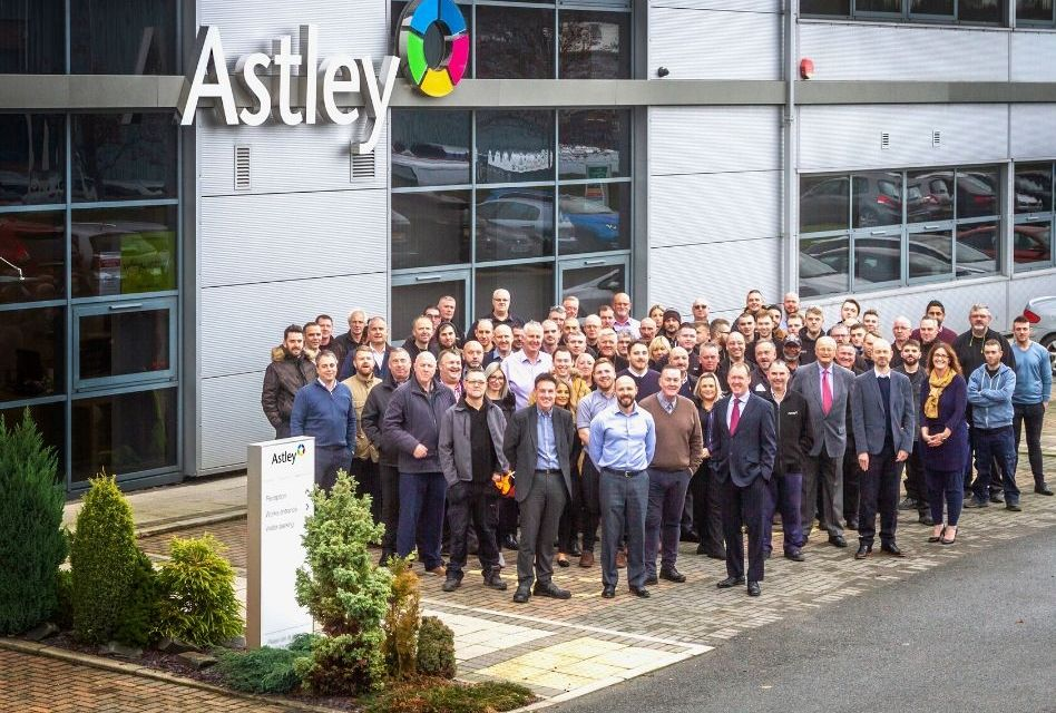 Astley celebrates a decade of growth