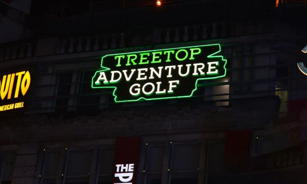 Adventurous signage for Printworks