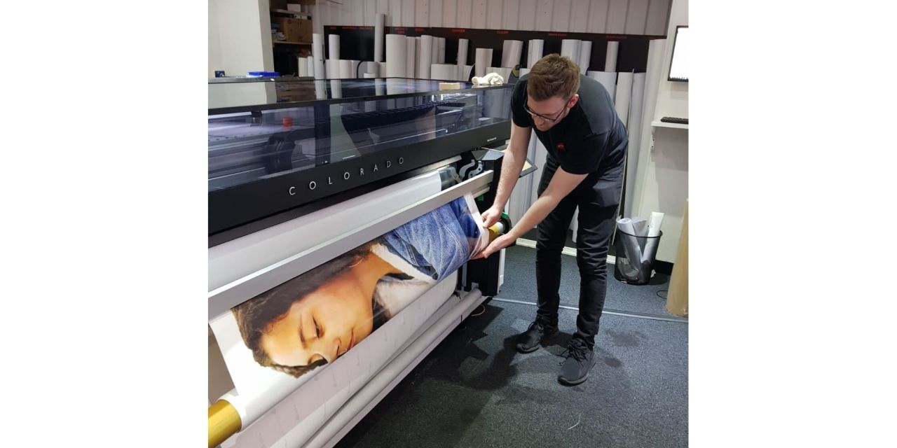 CIM Signs & Graphics scores a first for East Anglia