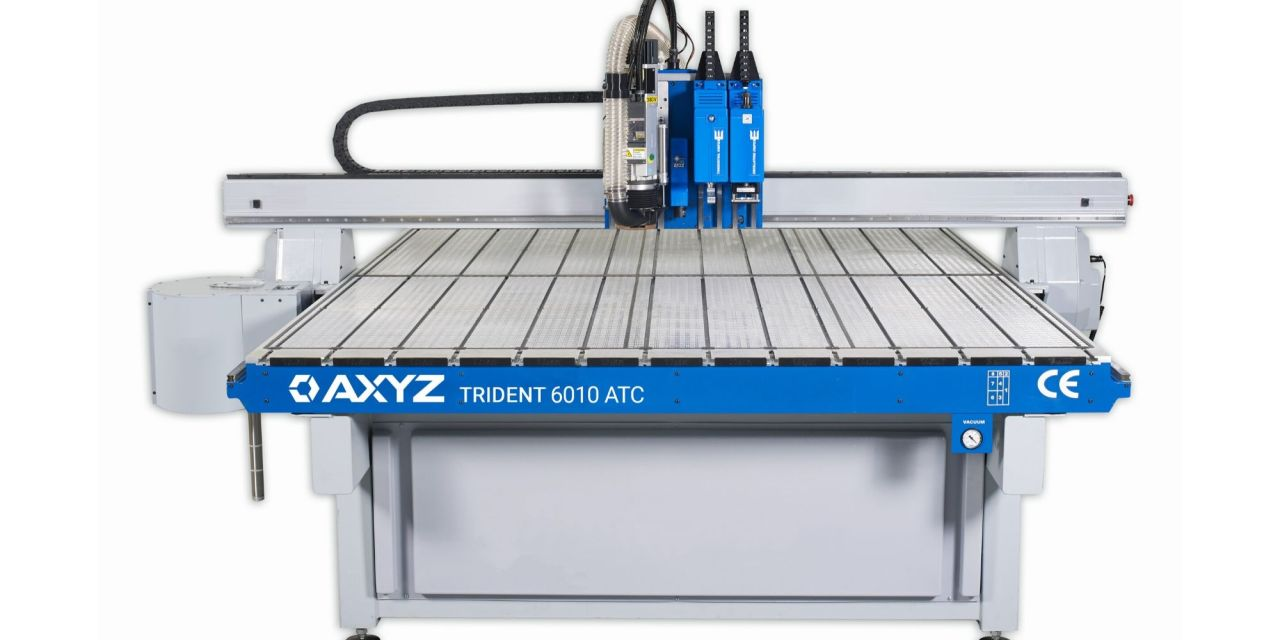 AXYZ to show the Trident at FESPA 2020