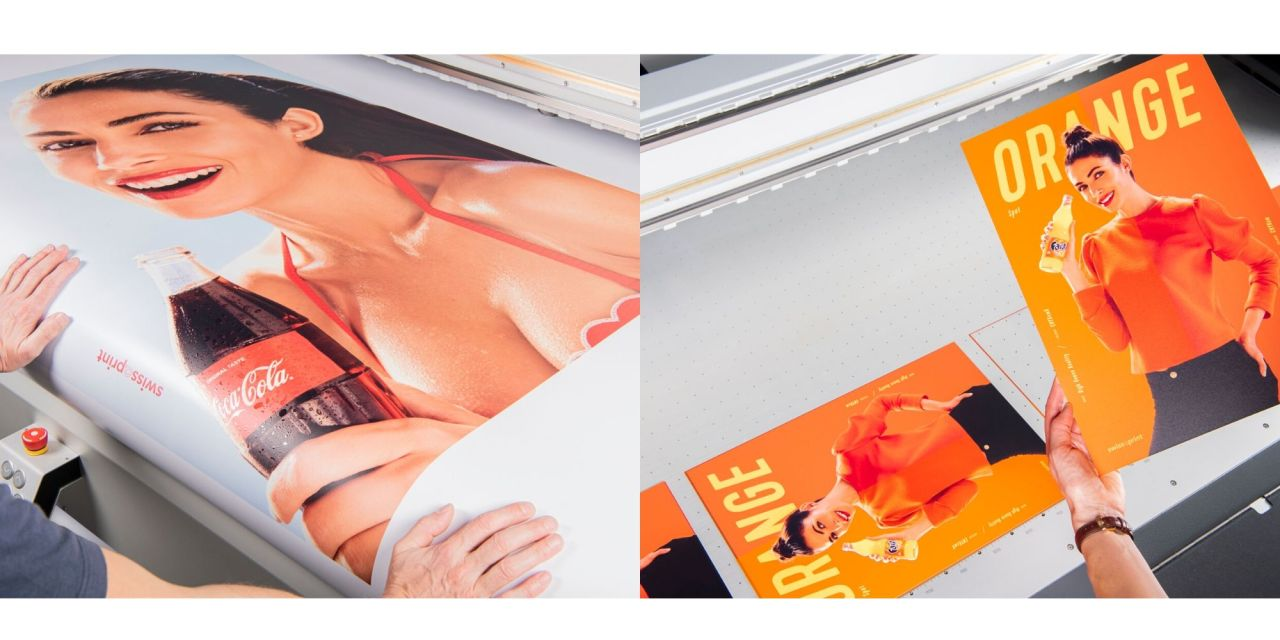 swissQprint offers orange ink and varnish options