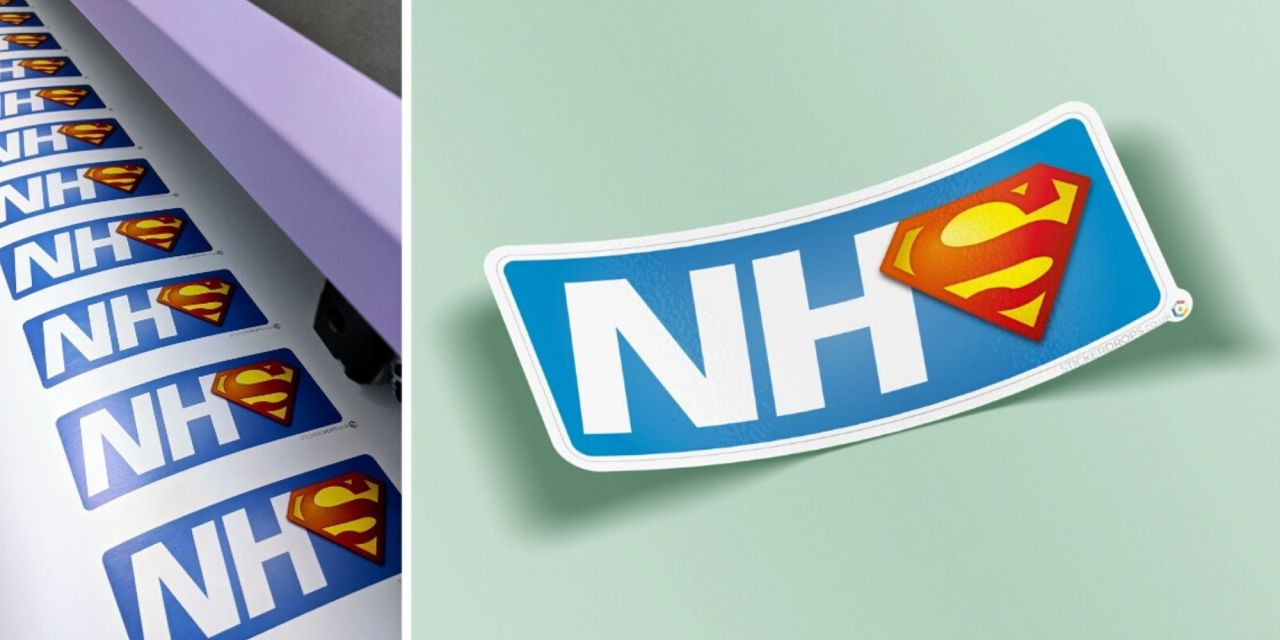 Stickerdrops rallies support for local NHS staff