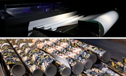 Automate and customise with Canon's UVgel Wallpaper Factory