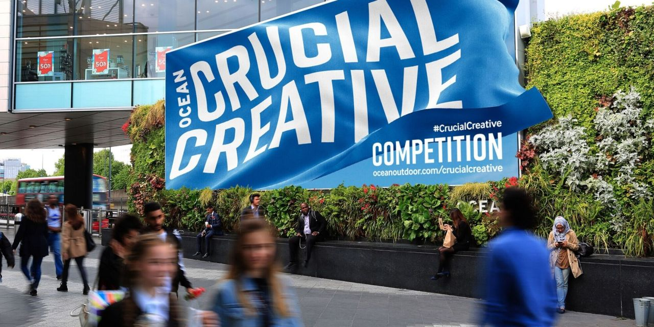 Ocean Outdoor launches Crucial Creative Competition