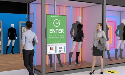 Digital signage solution helps retailers to operate safely