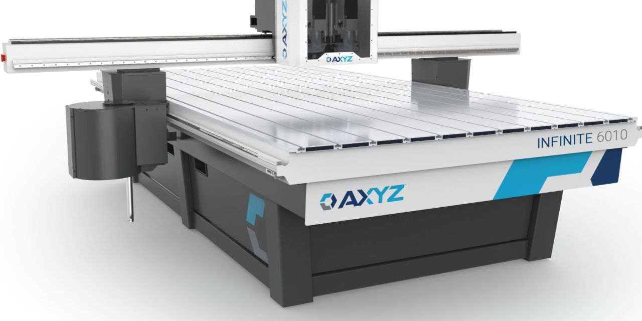 AXYZ router provides an infinite solution for signmakers
