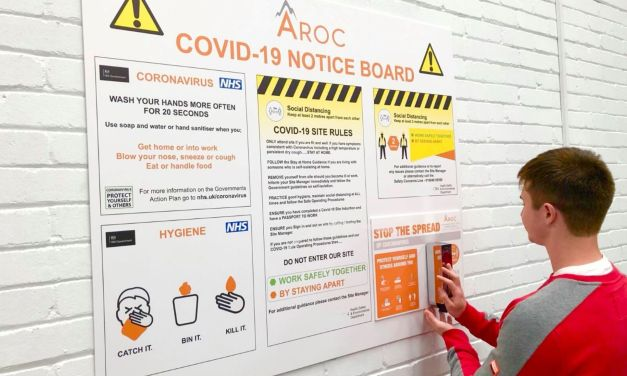New safety signage business hits the ground running