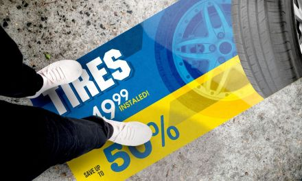 Drytac releases Polar Street FX for outdoor floor graphics