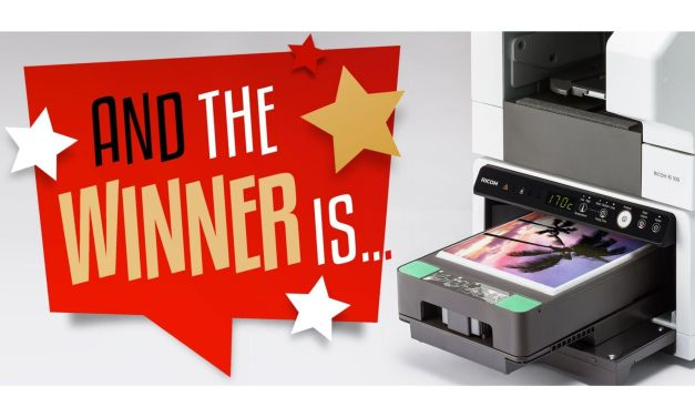 Ricoh announces winner of its DTG competition