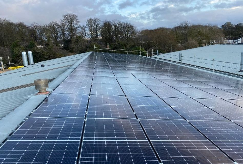 William Smith reduces energy costs with solar power