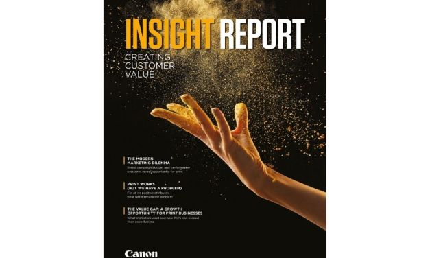 Latest Insight Report from Canon reveals new opportunities for print