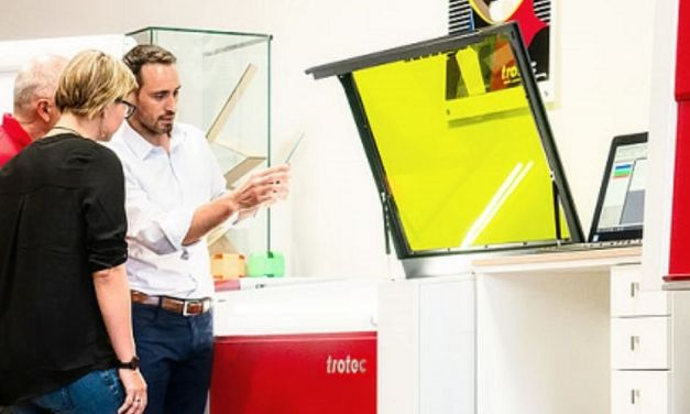 Trotec laser hits the road