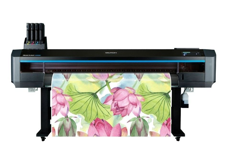 Mutoh unveils its new dye-sublimation printer