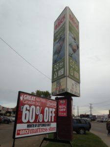 portable signs grande prairie