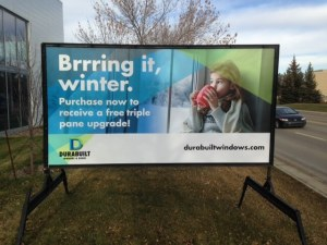 Advertising Sign Rental Winnipeg