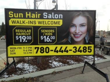 Regina Mobile Signs