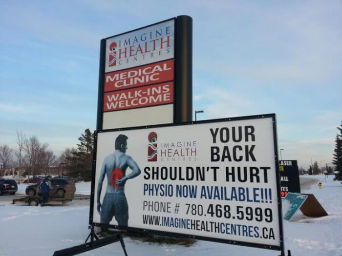 Edmonton Portable Sign Rental