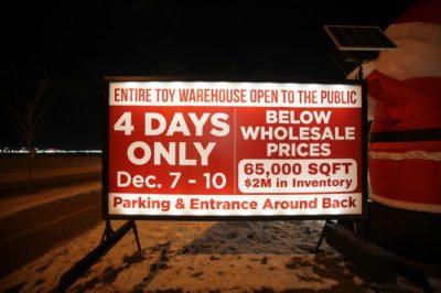 Portable Roadside Sign Rentals Edmonton