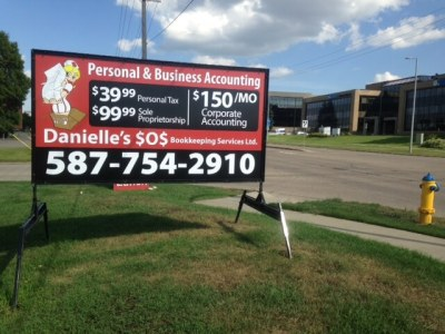 Spruce Grove Mobile Signs