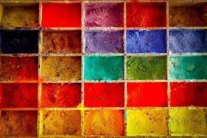 Colores en letón