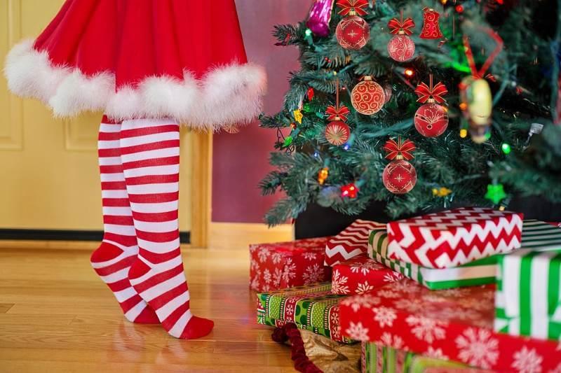 El color rojo lo asociamos a la Navidad