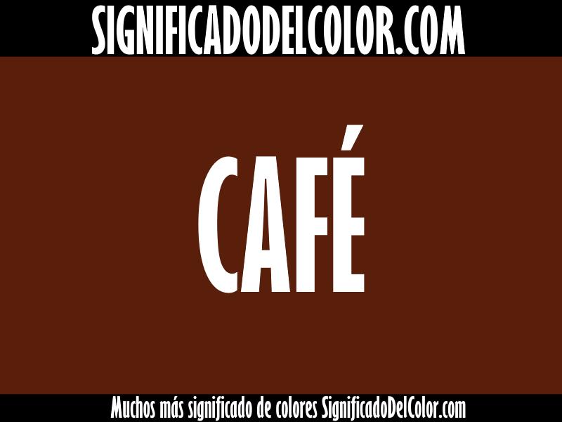 Significado del Color Café / Marrón ▷【SUEÑOS, ROPA, DECORACIÓN】