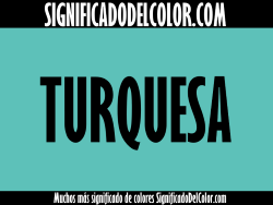 significado del color turquesa