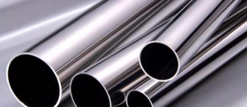 Ejemplo de unos tubos de acero con este color